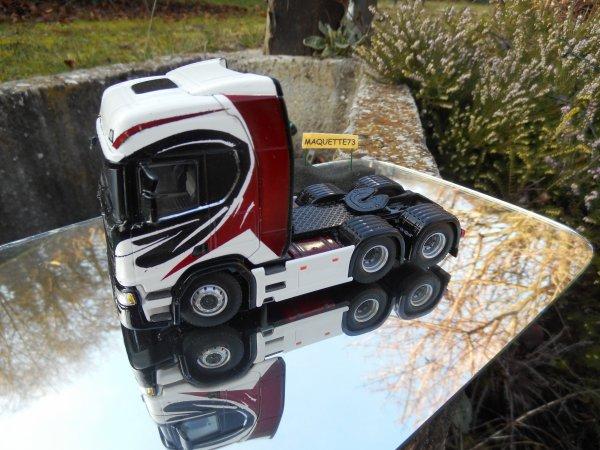Scania S730 6x2  pour recommencer l'année !!!!