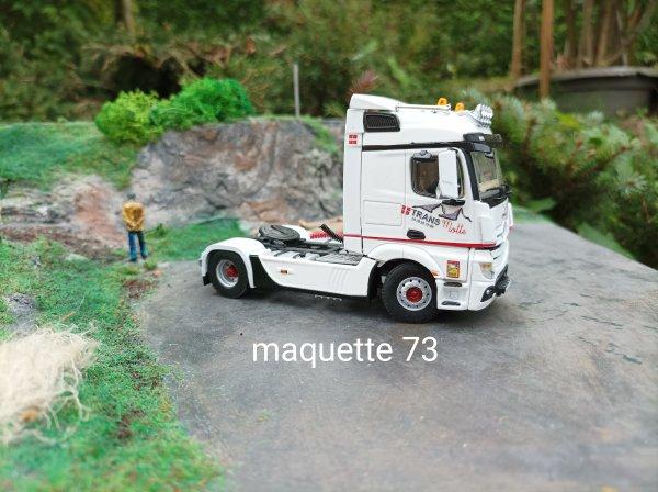Actros Transports TRANSMotte  La Motte Servolex 73