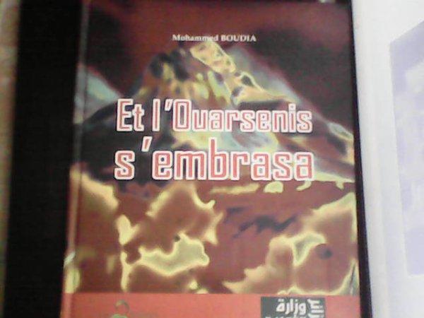 """""""ET L'OUARSENIS S'EMBRASA"""" par Med Boudia chez les Ed.3Pommes"""