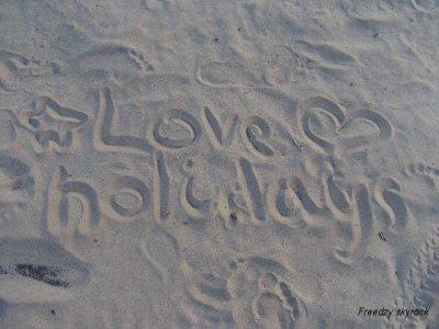 les friends à la plage!!!