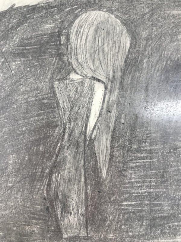 Pour Lou -Lysandra Dubois. Putain j'arrive pas à croire que je l'ai dessiné!