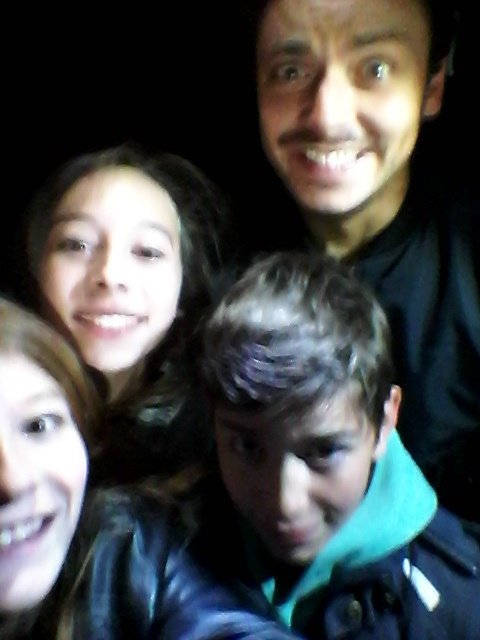 OMG  !!!!! j'ai vu Kev Adams <3