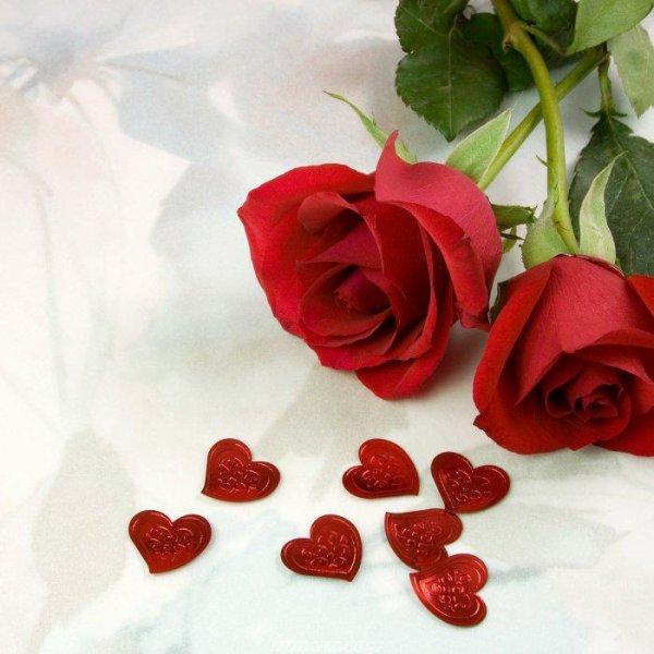 cette rose c'est pour toi toute seul mon amour