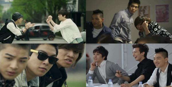 Big Bang - Hyundai Shouting Korea - Clip 4 VOSTFR