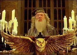 Dumbledore et Trois de ses Professeurs