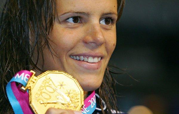 Laure Manaudou : 3 fois Championne du Monde