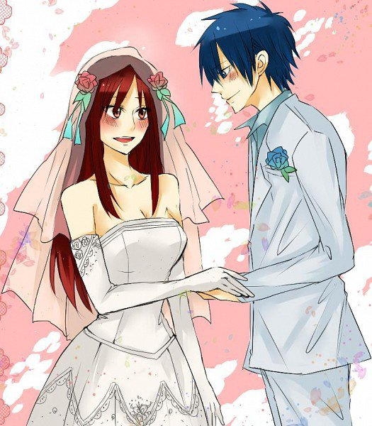 Mariage - Fille fairy tail ...