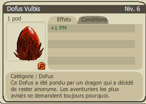 26 janvier 2012, acheté dofus VULBIS à 420M  <3<3<3