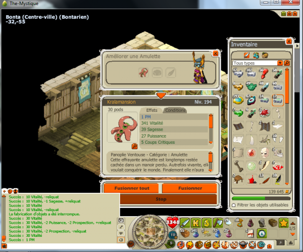 4 avril 2012, mansion PM pour la team dynastie de ma guilde ^^