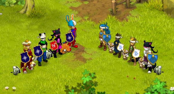 Finale du tournoi PVP remportée par la team osa/panda/steamer/iop !