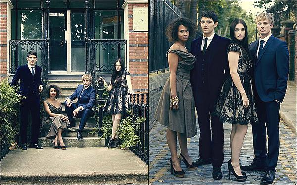 . PHOTOSHOOT - Le magazines RadioTimes à fait un shoot avec Colin, Angel et Bradley.   Je suis en totale admiration devant ces photos (de qualité moyenne pour l'instant). Colin est vraiment classe ! .