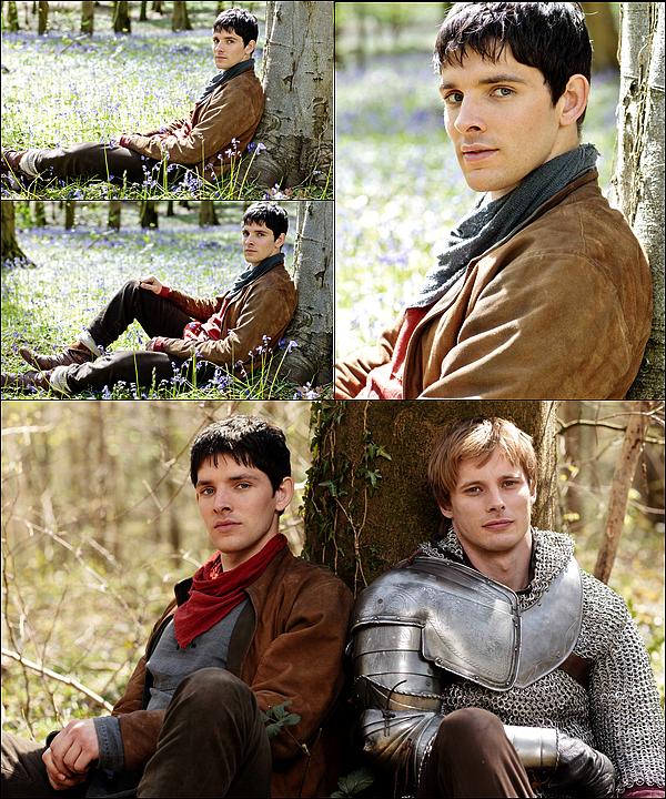 . Découvrez un aperçu des photos promotionnelles de Colin pour la saison 5 de Merlin .