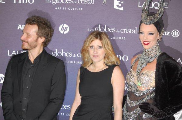 Sinclair et Amanda Sthers, Paris, le 6 février 2012