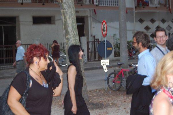 Maria De Medeiros, Venise, septembre 2011