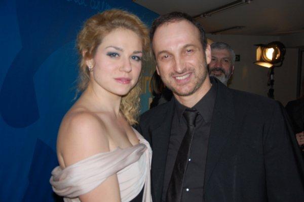 Emilie Dequenne et Michel Ferracci, Bruxelles, le 2 février 2013