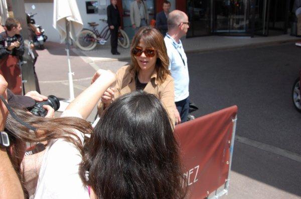 Sophie Marceau, Cannes, mai 2012