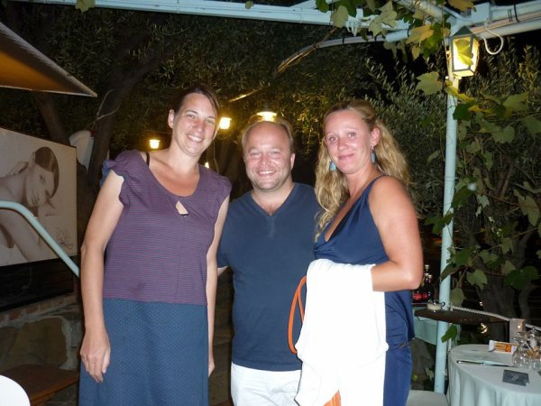 Sven De Ridder en Chindy Wysmantel, San Remo, 25 augustus 2013