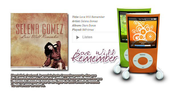 Love Will Remember