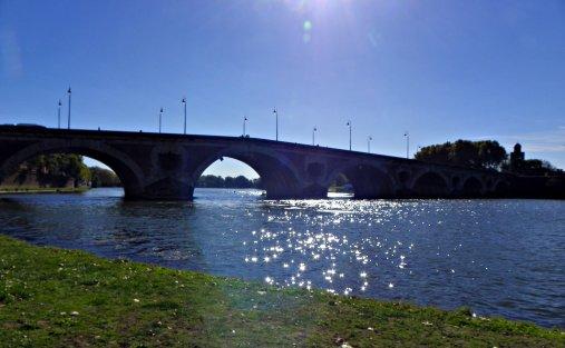 Toulouse - La Garonne -  Le 26 Octobre 2010 :