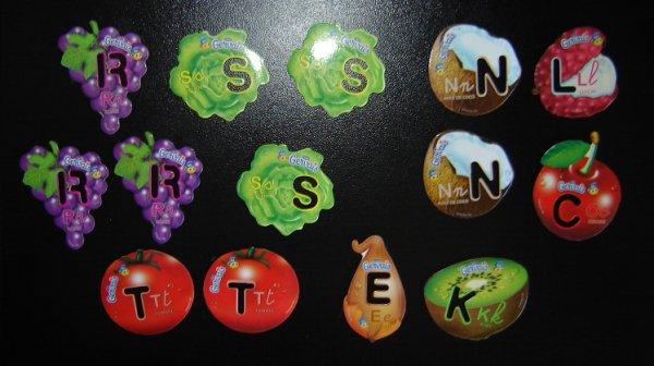 MAGNETS 12  (0.20 E  le magnet )