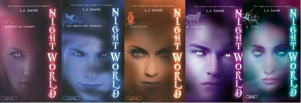 Nigth World Tomes 1, 2, 3, 4, 5