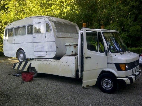 Caravane Hénon Harmonie 410 de 1962