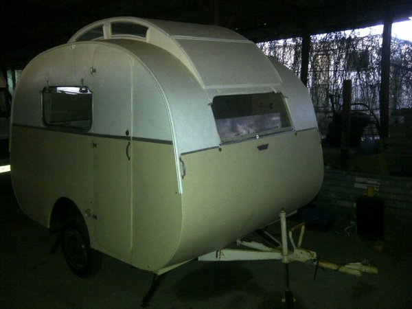 Caravane l'Escargot La Baule 280 1951