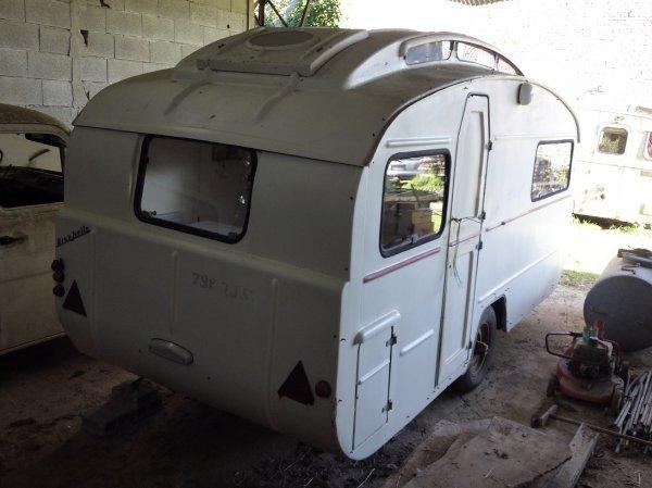 Caravane RivaStella Véga 1960