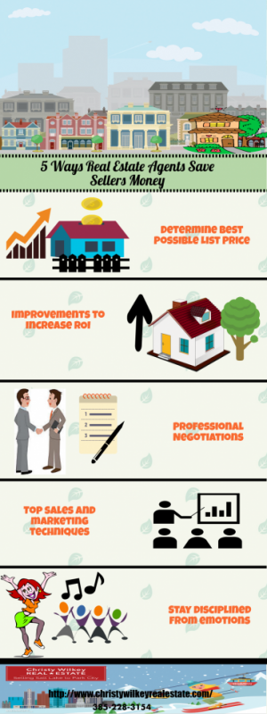 5 Ways Real Estate Agents Save Sellers Money