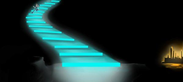Through the Tunder Stairway