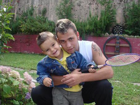borja y el nene