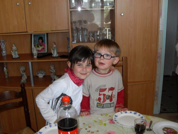 Les 3 ans de mon Fieulle avec sa soeur