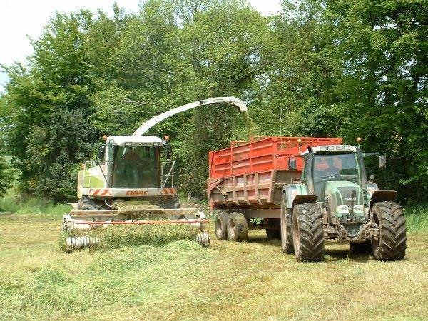 Ensilage herbe 2009