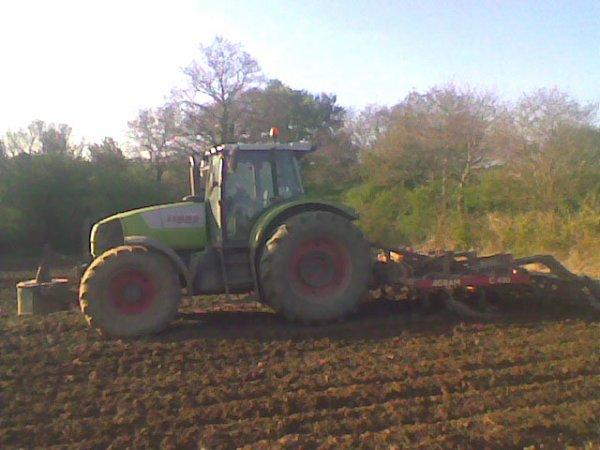 Préparation de terre 2010