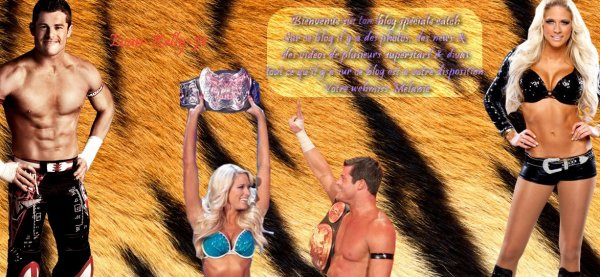 Evan Bourne And Kelly Kelly