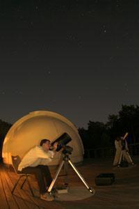 Une autre de mes passions l'astronomie