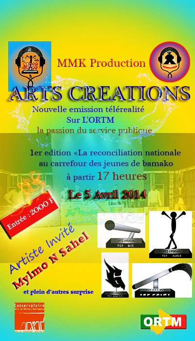 Affiche art creation