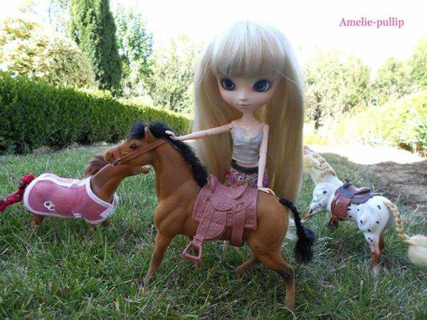 ♥ Séance photo Lucie et les chevaux ♥