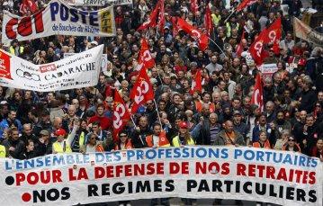 mobilisation contre le projet de loi sur les retraites