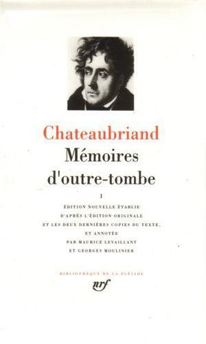 Mémoires d'outre-tombe de Chateaubriand