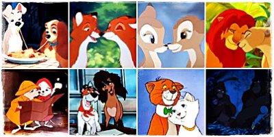 Zoom...les couples d'animaux !