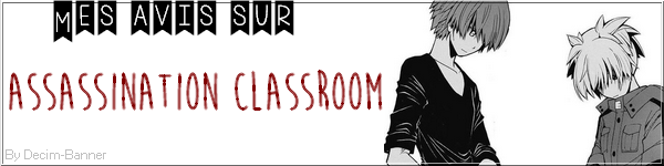 Assassinaton classroom