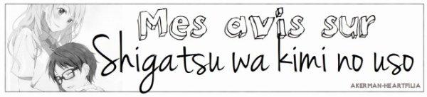 Shigatsu wa kimi no uso - April is your lie