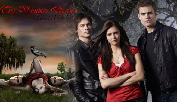 ma série du moment : The Vampire Diaries