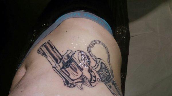 Mon tatouage  fini  :3