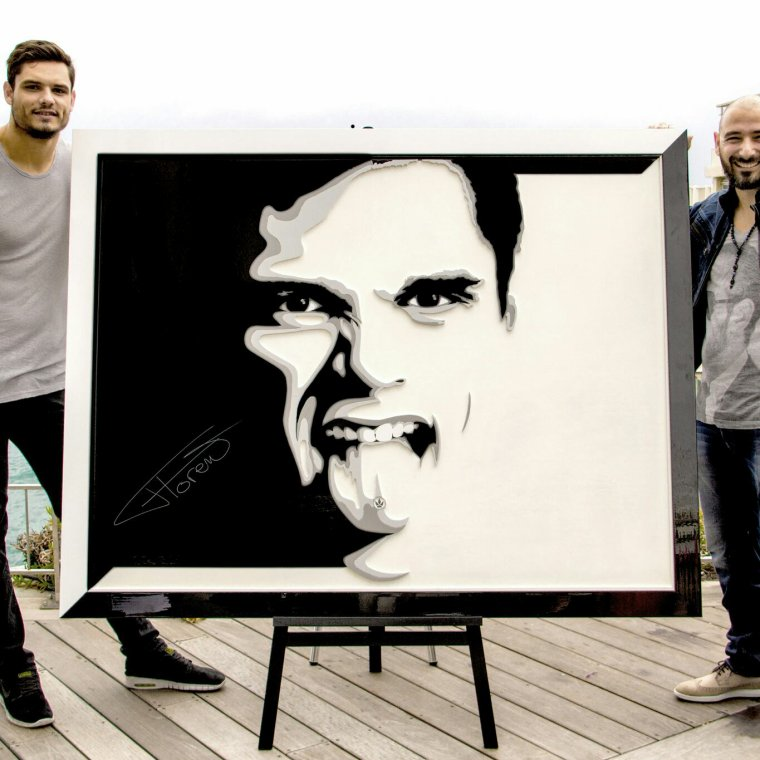 Florent Manaudou by Zen Portraitiste