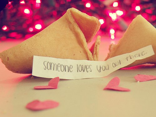 #Someone loves you out there