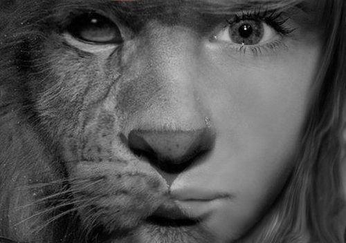 #Montage : Lion/Fille