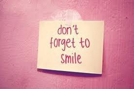 N'oublie pas de sourire