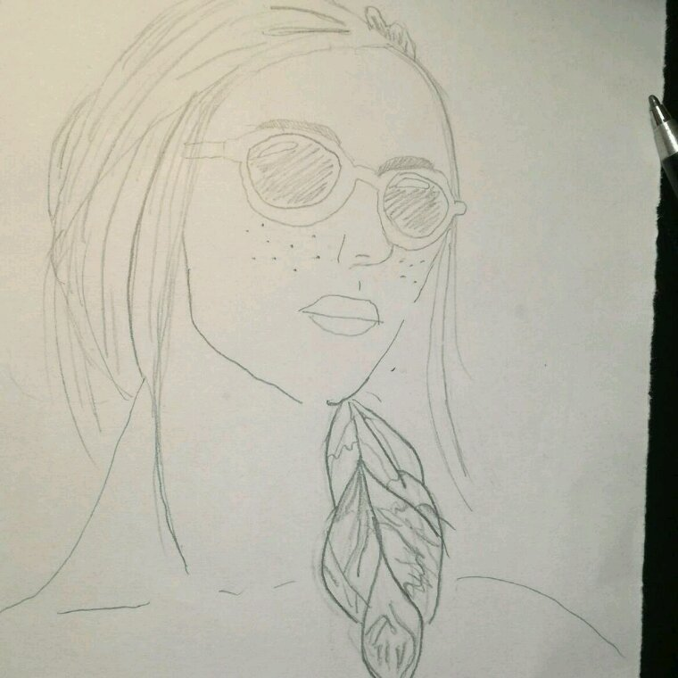 Débutante en dessin
